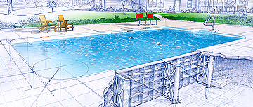 Fort Wayne In-ground Pools Polymer