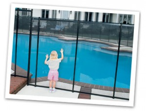 Baby-Loc Pool Fence