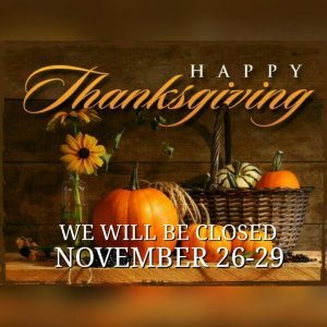 The Pool Doctor, LLC Thanksgiving Hours