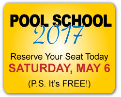 Save the date! Pool School 2017 – May 6th