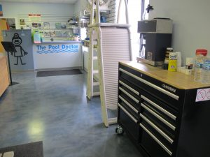 The Pool Doctor, LLC - Refreshments available while you shop