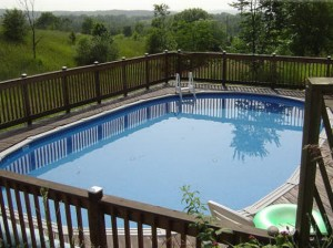 The Pool Doctor LLC Above Ground Swimming Pool