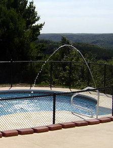 The Pool Doctor LLC Pool Fountain